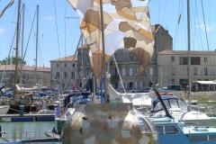 Sculpture flottante