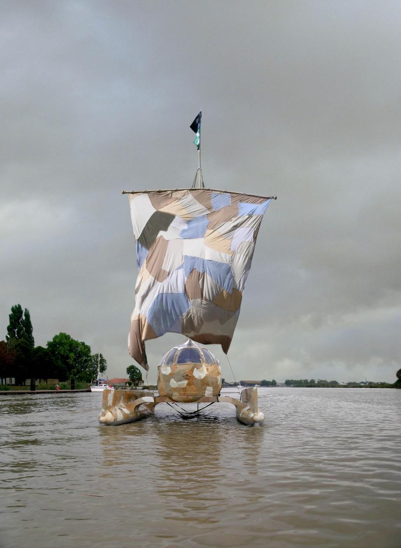 Sculpture flottabte